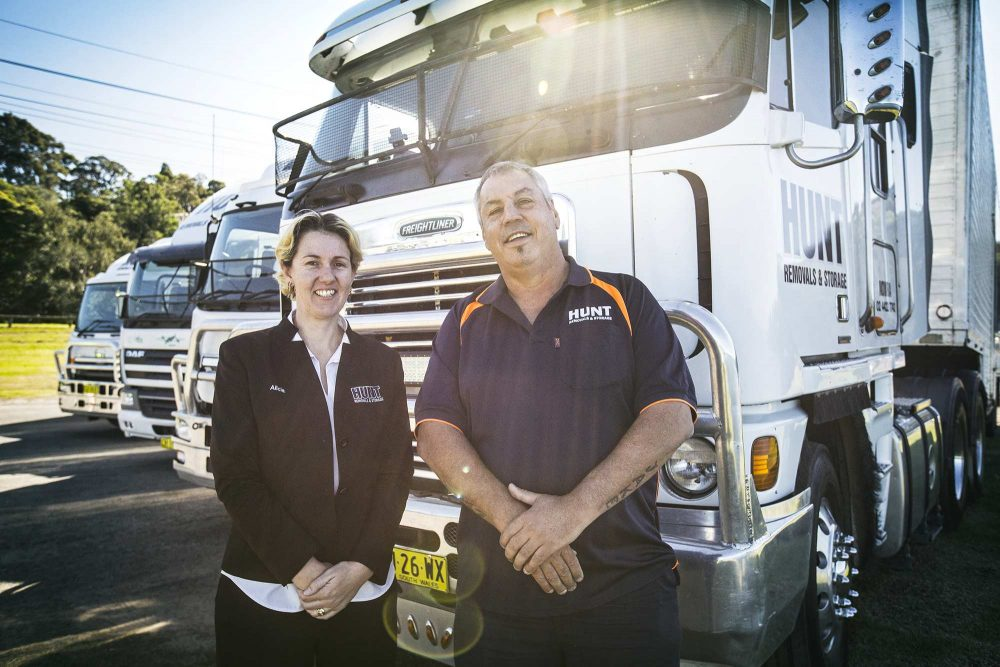 About Hunt Removals & Storage